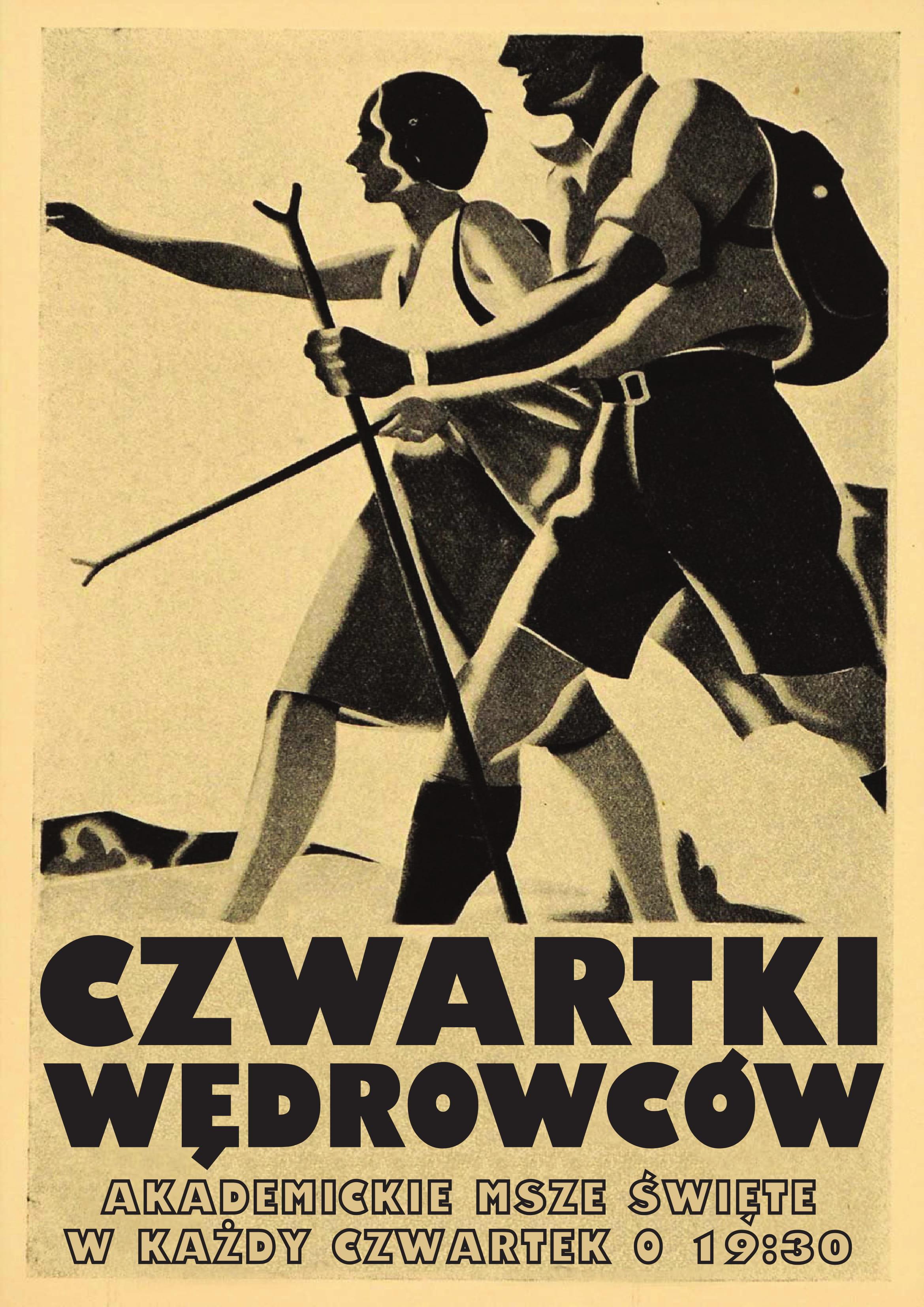 Czwartki wędrowców - plakat